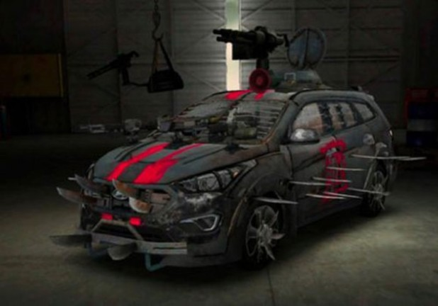 Hyundai's Walking Dead car design