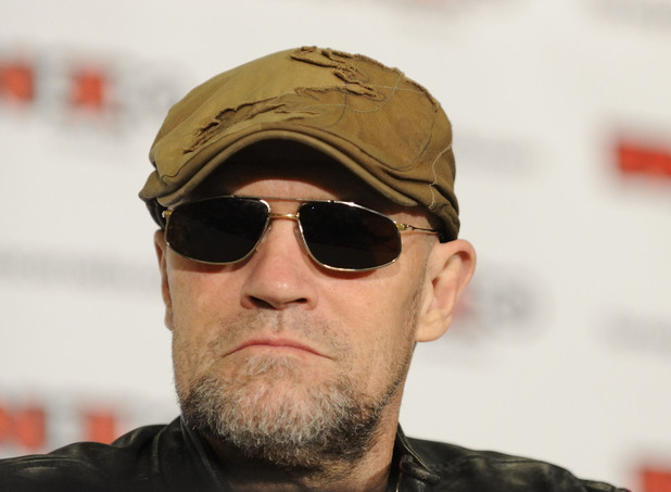 Michael Rooker on Day 4 of Fan Expo Canada 2013 at Toronto Metro Convention Centre.