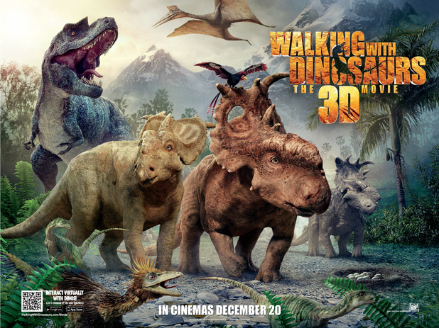 Walking with Dinosaurs: The 3D Movie poster