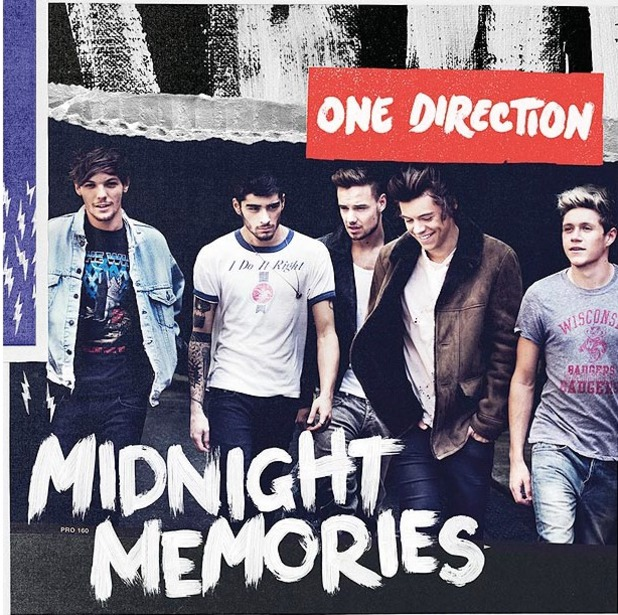 One Direction 'Midnight Memories' artwork