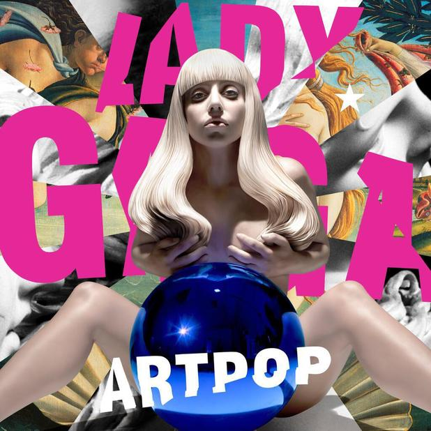 Lady Gaga's 'Artpop' album cover