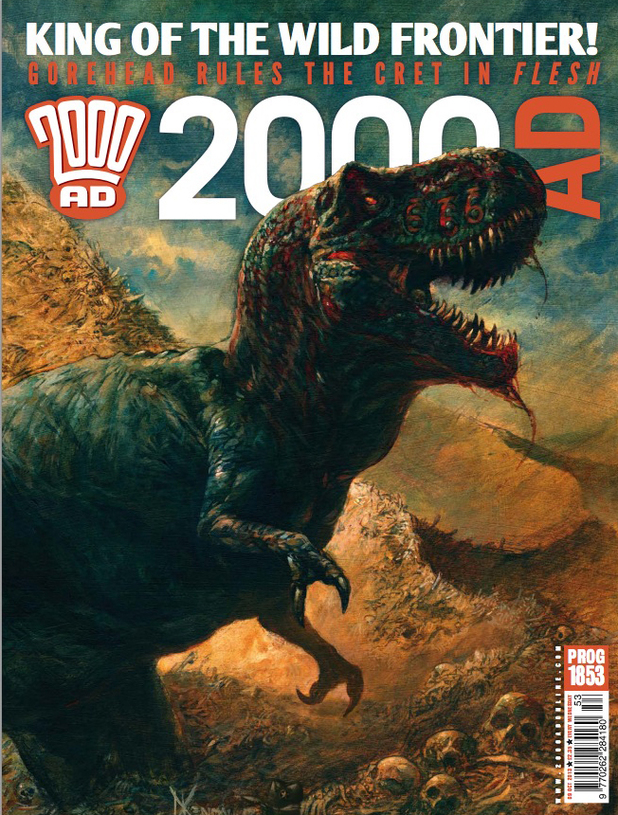 2000 AD Prog Report 1853 cover