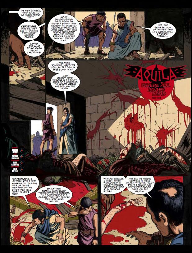 2000 AD Prog Report 1853: Aquila