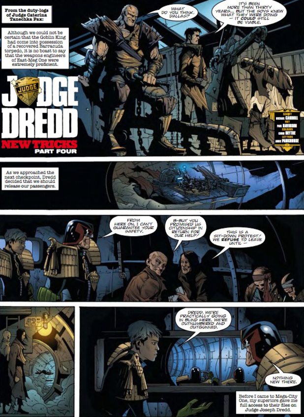 2000 AD Prog Report 1853: Judge Dredd