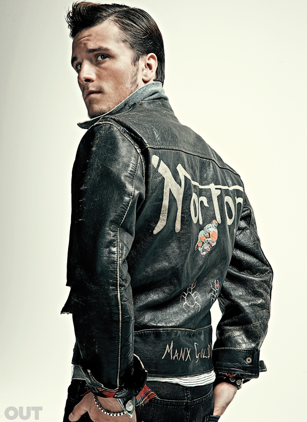 Josh Hutcherson - Out magazine