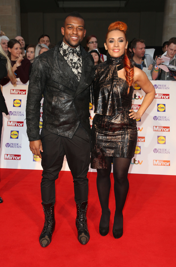 Oritsé Williams and AJ Azari