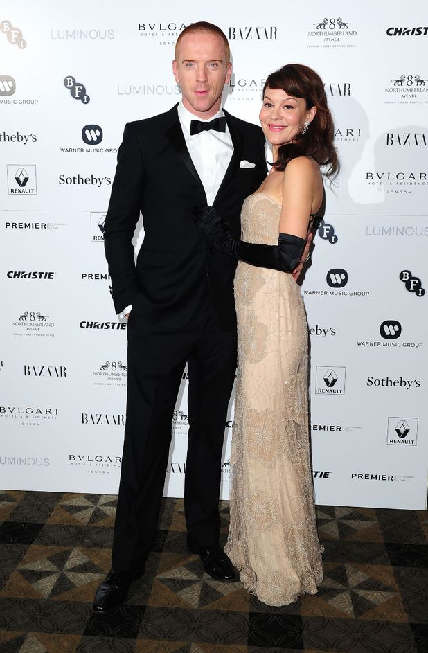 Damian Lewis and Helen McCrory