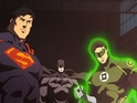 The latest image from the feature depicts Batman, Superman and Green Lantern.