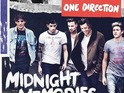 Midnight Memories overtakes Emeli Sandé's Our Version of Events.