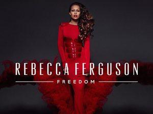 Rebecca Ferguson 'Freedom' artwork