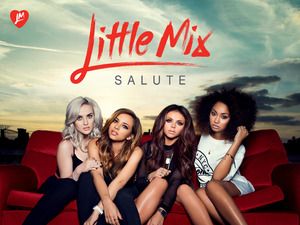 Little Mix 'Salute' album artwork.