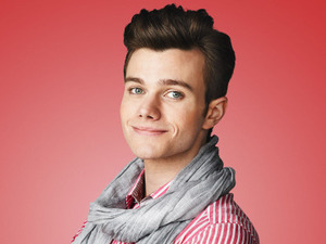 Chris Colfer as Kurt Hummel in Season 5 of Glee.