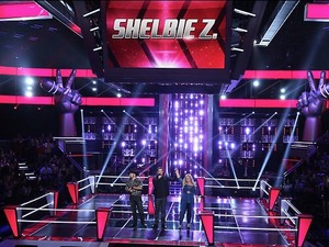 Shelbie Z and Justin Chain in part 1 of 'The Voice' battles.