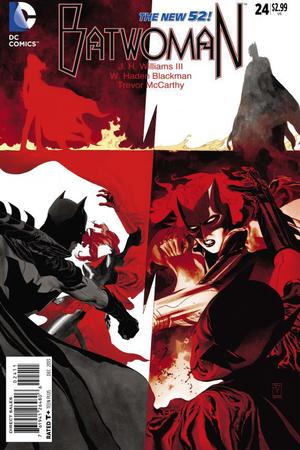 Batwoman #24 cover artwork