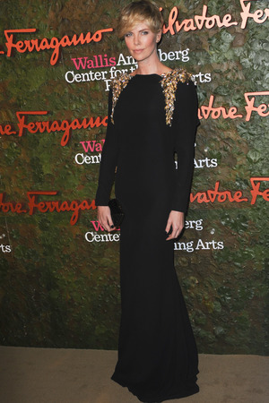 Charlize Theron Wallis Annenberg Center for the Performing Arts Inaugural Gala presented by Salvatore Ferragamo at the Wallis Annenberg Center for the Performing Arts on October 17, 2013 i