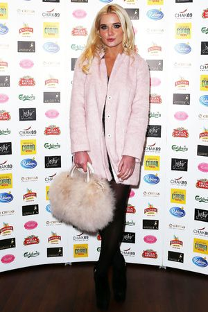 Helen Flanagan Elbrook Fundraiser at Chak 89 restaurant in Aid of the National Autistic Society, London, Britain - 17 Oct 2013