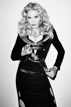 Madonna poses for Terry Richardson