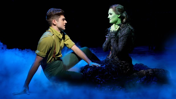 Liam Doyle and Nikki Davis-Jones in Wicked