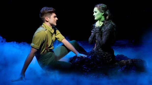 Liam Doyle and Nikki Davis-Jones in Wicked