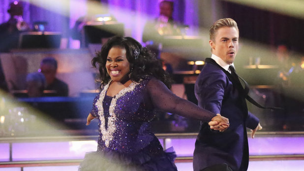 Dancing With The Stars (Fall 2013) episode 5: Amber Riley & Derek Hough