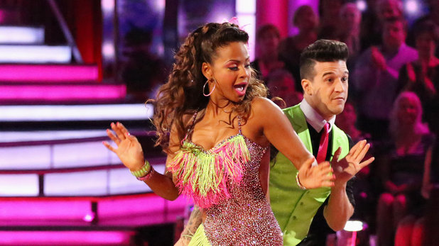 Dancing With The Stars (Fall 2013) episode 5: Christina Milian and Mark Ballas