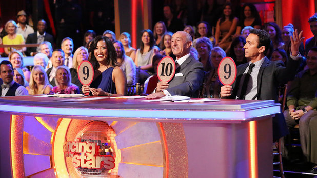 Dancing With The Stars (Fall 2013) episode 5: Len Goodman, Carrie Ann Inaba and Bruno Tonioli