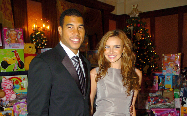 Nadine Coyle and Jason Bell at the Christmas Charity Lunch for Northern Ireland Children's Hospice