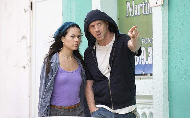 Martina Garcia as Esme and Damian Lewis as Brody 'Homeland' S03E03: 'Tower of David'