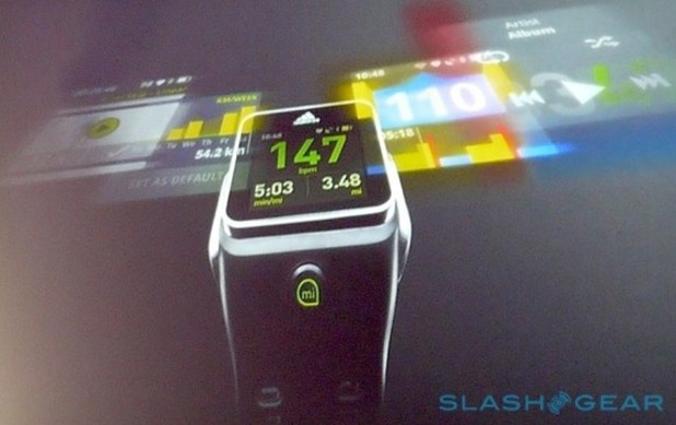 Adidas fitness tracking smartwatch