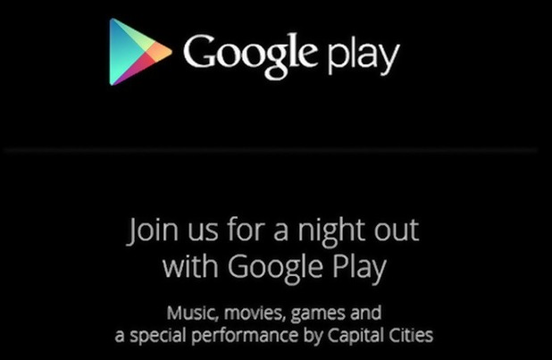 Google Play event