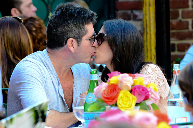 Simon Cowell with girlfriend Lauren Silverman out and about in Beverly Hills, Los Angeles, America - 12 Oct 2013 Simon Cowell and Lauren Silverman