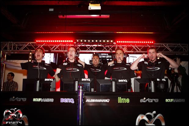 A Call of Duty eSports tournament hosted by Gfinity in London