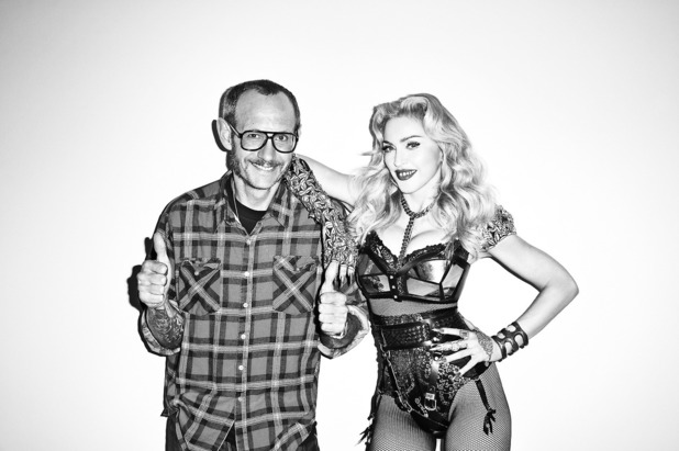 Terry Richardson and Madonna