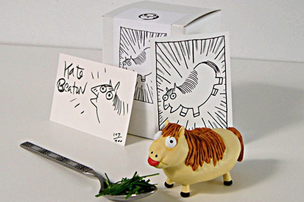 Kate Beaton's Fat Pony kids book