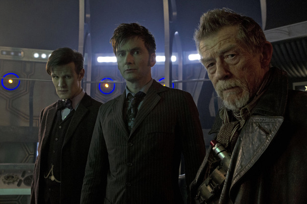 The three Doctors - Matt Smith, David Tennant and John Hurt