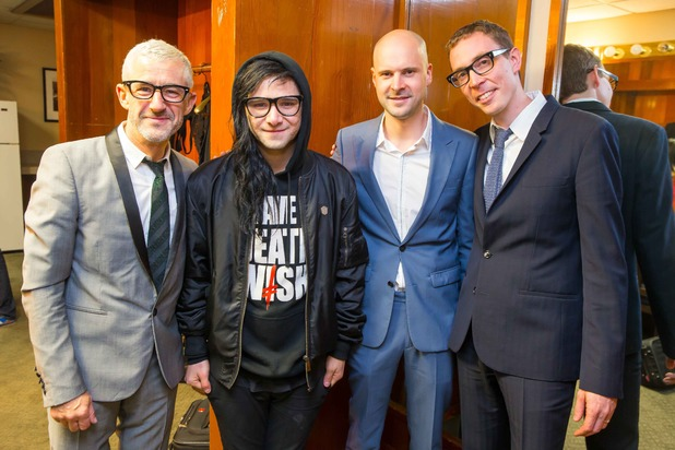 Skrillex with Above & Beyond at LA's Greek Theatre