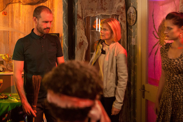 Leanne is horrified by how Nick has spoken to Simon.