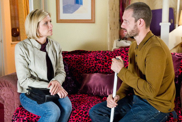 Leanne and Nick have a lot to talk about.