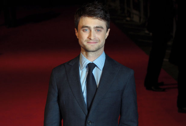 Daniel Radcliffe attends the premiere of 'Kill Your Darlings' at Odeon West End, London