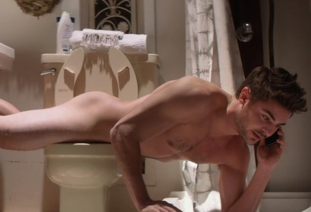 Zac Efton naked in 'That Awkward Moment'
