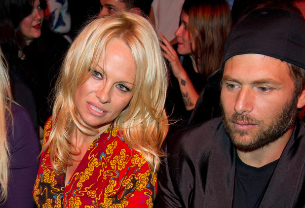 Vivienne Westwood show, Spring Summer 2014, Paris Fashion Week, France - 28 Sep 2013Pamela Anderson and ex-husband Rick Salomon 28 Sep 2013