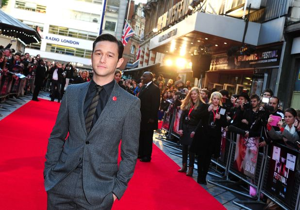 Joseph Gordon-Levitt at the screening of his new film 'Don Jon' at the Odeon West End in London.