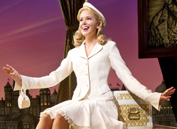 Emily Tierney as Glinda in Wicked