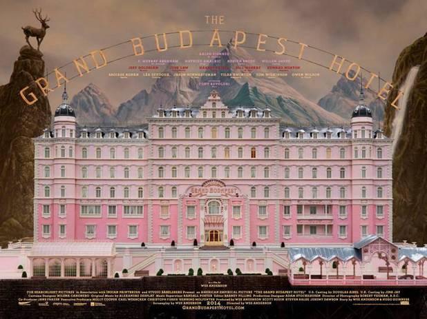 'Grand Budapest Hotel' UK poster