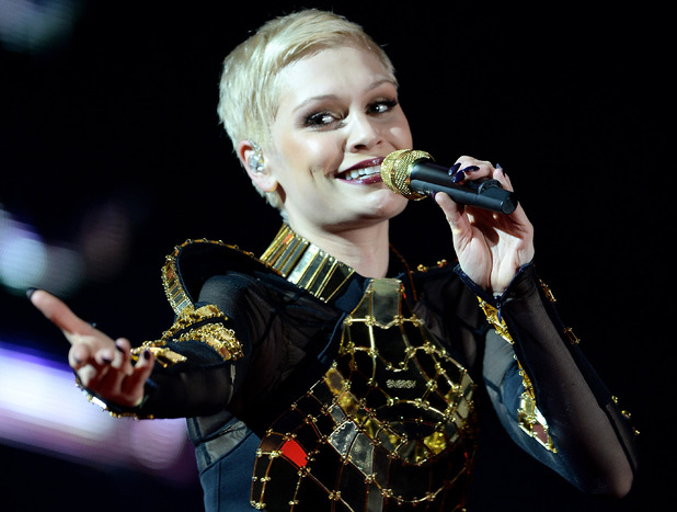Jessie J Performs on the opening night of her arena tour at the Odyssey Arena, Belfast