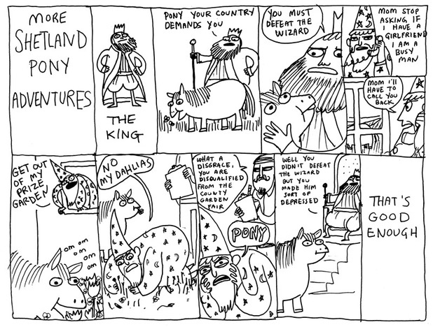 Kate Beaton's Fat Pony kids book