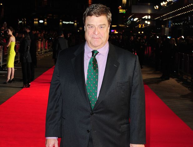 John Goodman arrives at the screening for new film 'Inside Llewyn Davis' at the Odeon cinema in London