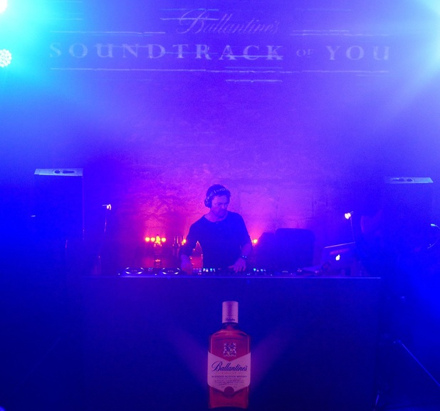 Pete Tong performs at Ballantines 'Soundtrack Of You' party, Edinburgh