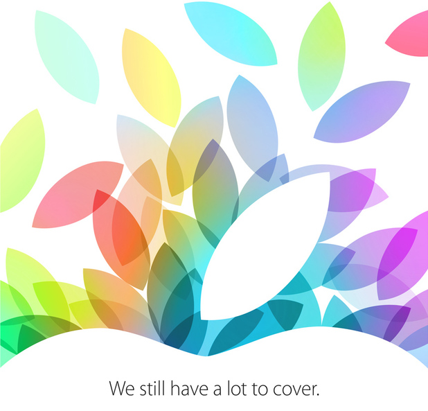 Apple event confirmed for October 22
