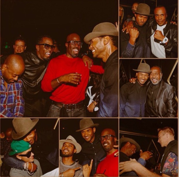 Usher's Birthday Party